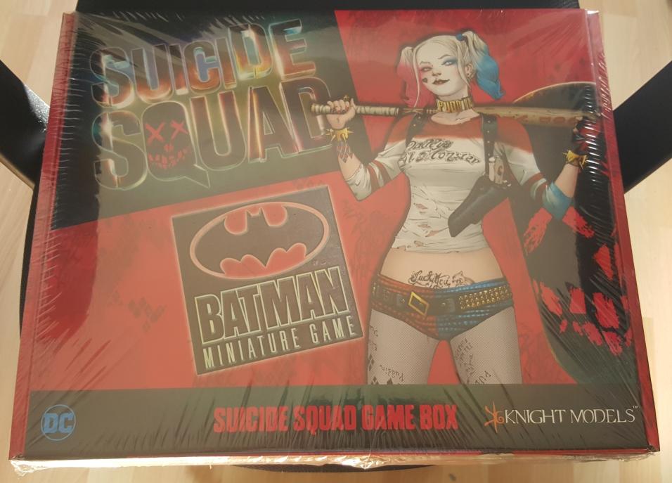 Suicide Squad Box - Ouverture en images 1-Boite