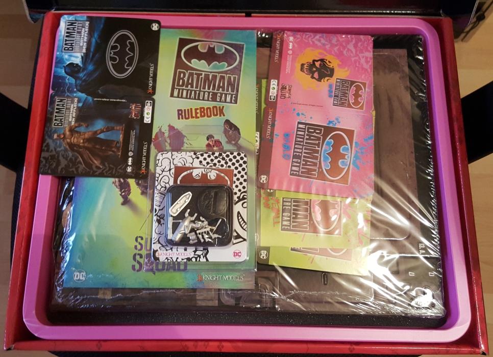 Suicide Squad Box - Ouverture en images 2-OuvertureCouvercle