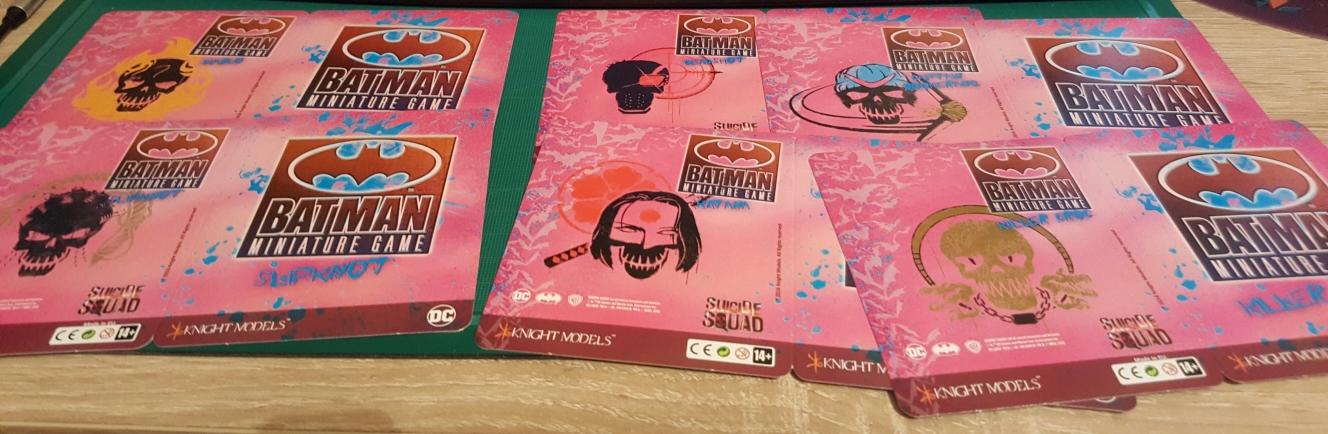 Suicide Squad Box - Ouverture en images 5-CartesVersoSS